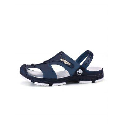 Environmental Hollow-out Beach SandalsMens Sandals<br>Environmental Hollow-out Beach Sandals<br><br>Closure Type: Slip-On<br>Contents: 1 x Pair of Shoes<br>Decoration: Hollow Out<br>Function: Slip Resistant<br>Materials: PU, Rubber<br>Occasion: Beach<br>Outsole Material: Rubber<br>Package Size ( L x W x H ): 33.00 x 22.00 x 11.00 cm / 12.99 x 8.66 x 4.33 inches<br>Style: Comfortable<br>Type: Sandals<br>Upper Material: PU