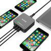 TUTUO QC020PT USB Charger - BLACK AND GREY