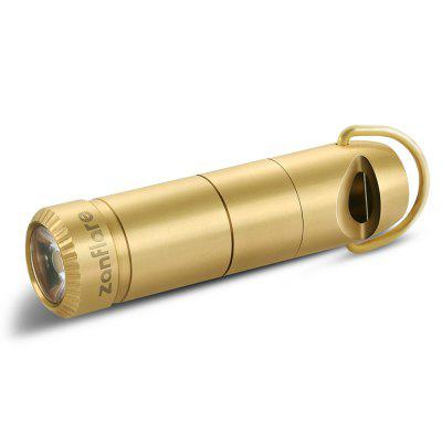 Special price for zanflare F6 EDC Flashlight  -  BATTERY INCLUDED  GOLDEN YELLOW