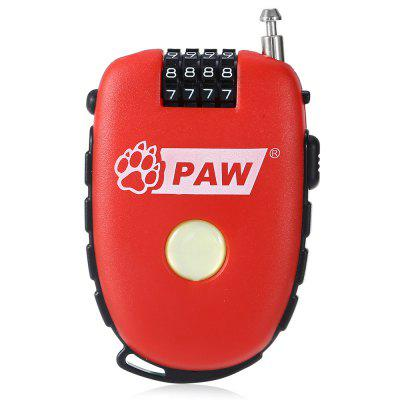 PAW Steel Cable Code Cycling Lock