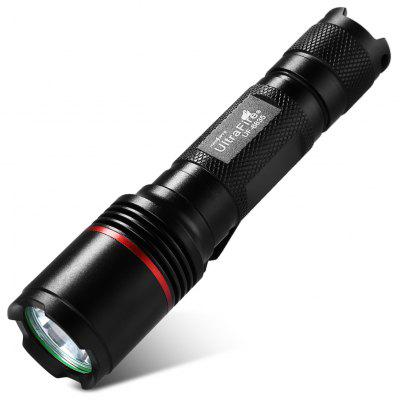 Buy UltraFire UF 6835 LED Rechargeable Flashlight, BLACK, LED Lights & Flashlights, LED Flashlights & Accessories, LED Flashlights for $11.47 in GearBest store