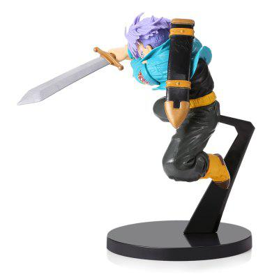 6.3 inch PVC Collectible Animation Figurine ModelMovies &amp; TV Action Figures<br>6.3 inch PVC Collectible Animation Figurine Model<br><br>Completeness: Finished Goods<br>Gender: Unisex<br>Materials: ABS<br>Package Contents: 1 x Action Figure<br>Package size: 13.00 x 10.00 x 18.00 cm / 5.12 x 3.94 x 7.09 inches<br>Package weight: 0.2250 kg<br>Product size: 11.00 x 8.00 x 16.00 cm / 4.33 x 3.15 x 6.3 inches<br>Product weight: 0.1540 kg<br>Stem From: Japan<br>Theme: Movie and TV