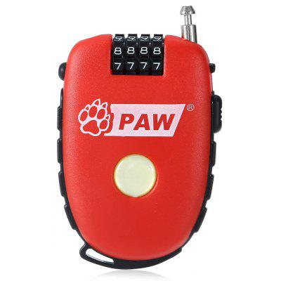 PAW Portable Anti-theft Bicycle Code Lock