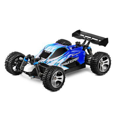WLtoys A959 1:18 2.4GHz RC Off-road Racing Car - RTRRC Cars<br>WLtoys A959 1:18 2.4GHz RC Off-road Racing Car - RTR<br><br>Age: Above 14 years old<br>Battery Information: 7.4V 1100mAh LiPo<br>Brand: WLtoys<br>Car Power: Built-in rechargeable battery<br>Charging Time: 2.5 Hours<br>Control Distance: Over 100m<br>Drive Type: 4 WD<br>Motor Type: Brushed Motor<br>Package Contents: 1 x A959 RC Off-road Racing Car, 1 x Charger, 1 x RC Controller, 1 x Converter, 1 x English Manual<br>Package size (L x W x H): 31.50 x 22.00 x 23.50 cm / 12.4 x 8.66 x 9.25 inches<br>Package weight: 1.7770 kg<br>Proportion: 1:18<br>Racing Time: About 15mins<br>Remote Control: 2.4GHz Wireless Remote Control<br>Speed: 45km/h<br>Transmitter Power: 4 x 1.5V AA (not included)<br>Type: Off-Road Car