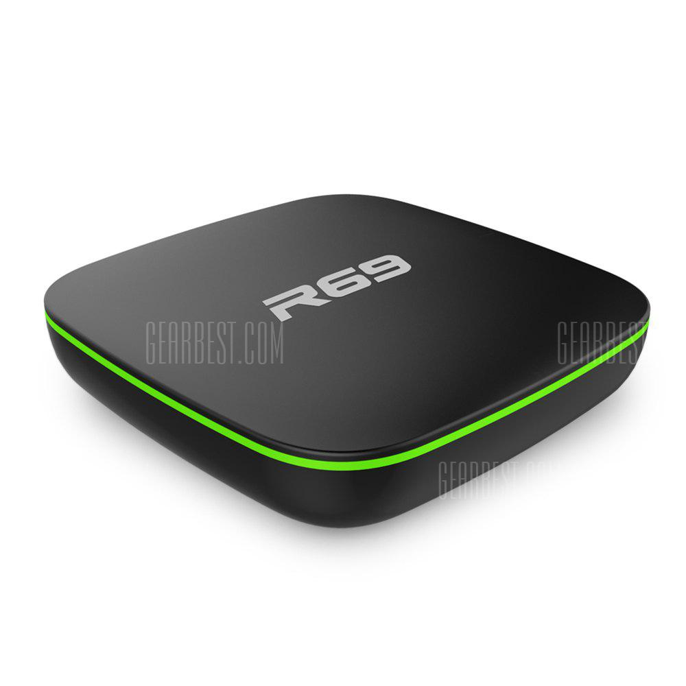 Sunvell R69 TV Box - EU Plug Black