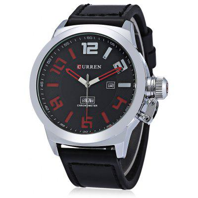Curren M8270 Day Date Display Men Quartz Watch