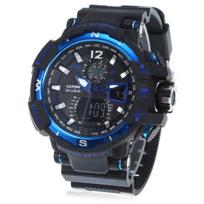 EXPONI 3236 Digital Quartz Watch