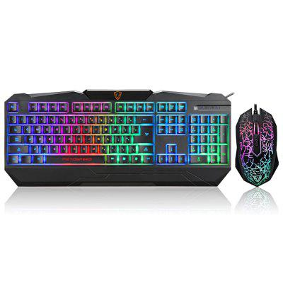 Motospeed S69 Colorful Backlit Gaming Keyboard and Mouse