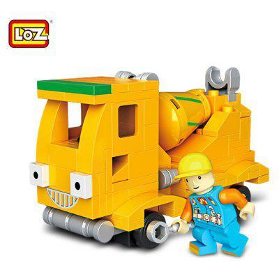 LOZ ABS Engineering Construction Building Brick Toy