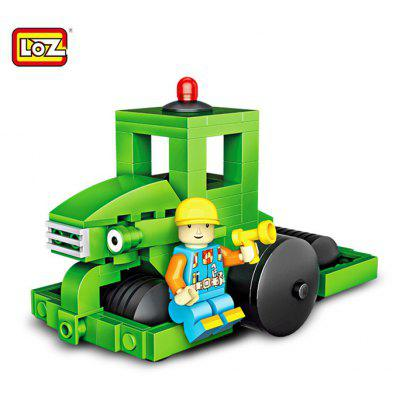 LOZ Engineering Vehicle Building Block Toy
