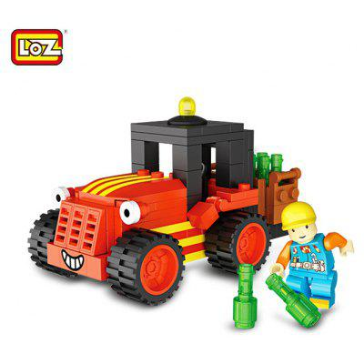 LOZ Engineering Construction ABS Building Brick Toy