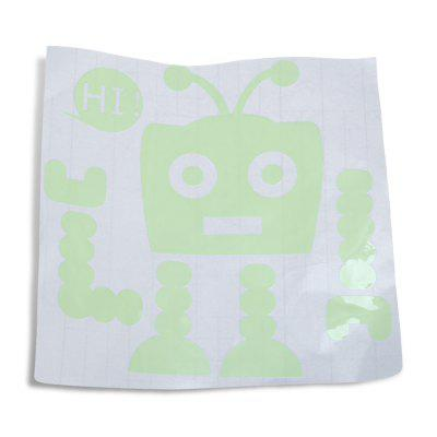 AY - S75 Robot Luminous Switch Sticker