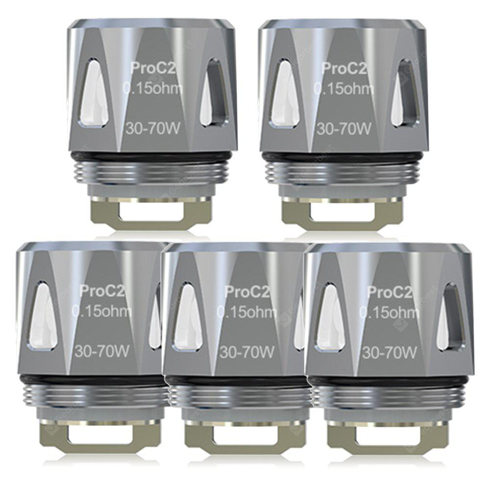 5pcs JOYETECH ProC2 0.15 ohm Coil Head for ProCore Aries Atomizer