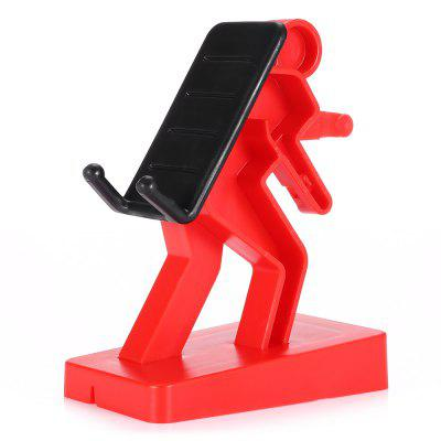 Desktop Phone Stand Walker Design Bracket Holder