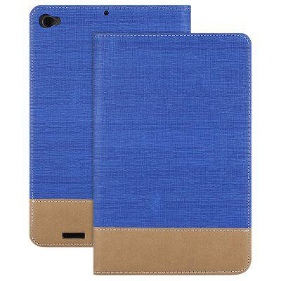 Canvas Grain PU Protective Case for Xiaomi Mi Pad 3