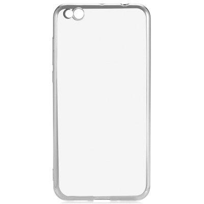 Buy SILVER Luanke Electroplating TPU Case for $4.43 in GearBest store