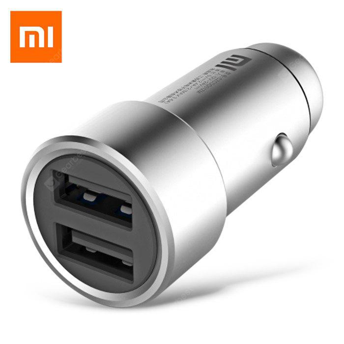Original Xiaomi Fast Charging Car Charger Metal Style - SILVER