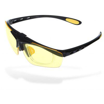 Buy YELLOW ROBESBON Cycling Glasses for $3.03 in GearBest store