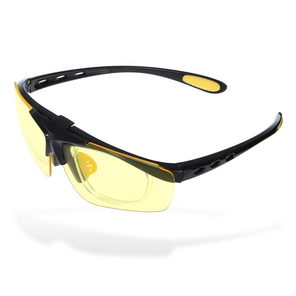 YELLOW ROBESBON Cycling Glasses