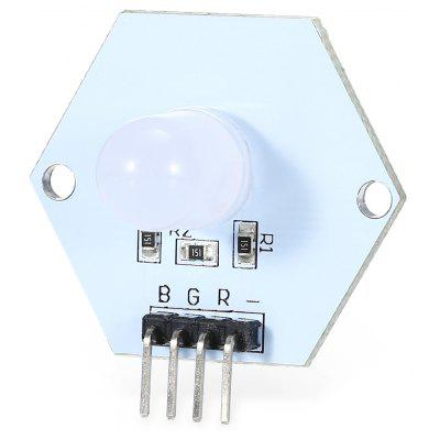 10mm Full Color RGB Diffused LED Module / Cathode