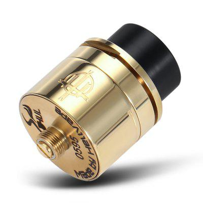 Original HELLVAPE TRISHUL RDAVapor Atomizers<br>Original HELLVAPE TRISHUL RDA<br><br>Brand: Hellvape<br>Material: Stainless Steel<br>Model: TRISHUL<br>Overall Diameter: 23mm<br>Package Contents: 1 x HELLVAPE TRISHUL RDA, 1 x Screw, 1 x 510 Adapter, 4 x Insulated Ring<br>Package size (L x W x H): 8.40 x 8.40 x 3.20 cm / 3.31 x 3.31 x 1.26 inches<br>Package weight: 0.0730 kg<br>Product size (L x W x H): 3.50 x 2.40 x 2.40 cm / 1.38 x 0.94 x 0.94 inches<br>Product weight: 0.0380 kg<br>Rebuildable Atomizer: RBA,RDA<br>Thread: 510<br>Type: Rebuildable Drippers, Rebuildable Atomizer