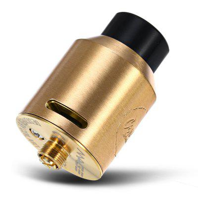Original CoilART MAGE 24mm RDARebuildable Atomizers<br>Original CoilART MAGE 24mm RDA<br><br>Brand: CoilART<br>Material: Stainless Steel<br>Model: MAGE<br>Overall Diameter: 24mm<br>Package Contents: 1 x CoilART MAGE RDA, 1 x Screwdriver, 3 x O-ring, 1 x Vape Band, 4 x Screw<br>Package size (L x W x H): 8.50 x 8.50 x 4.20 cm / 3.35 x 3.35 x 1.65 inches<br>Package weight: 0.1010 kg<br>Product size (L x W x H): 4.00 x 2.40 x 2.40 cm / 1.57 x 0.94 x 0.94 inches<br>Product weight: 0.0330 kg<br>Rebuildable Atomizer: RBA,RDA<br>Thread: 510<br>Type: Rebuildable Drippers, Rebuildable Atomizer