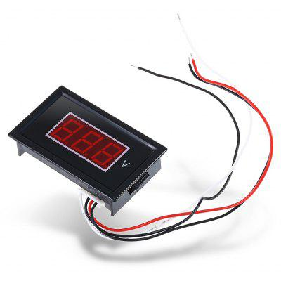 HakkaDeal V85D Digital LED Voltmeter Module Red