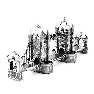 Bridge Shape Metallic Puzzle Birthday Present