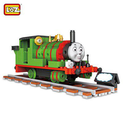 LOZ ABS Train Construction Building Brick Toy