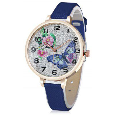Butterfly Pattern Quartz Watch