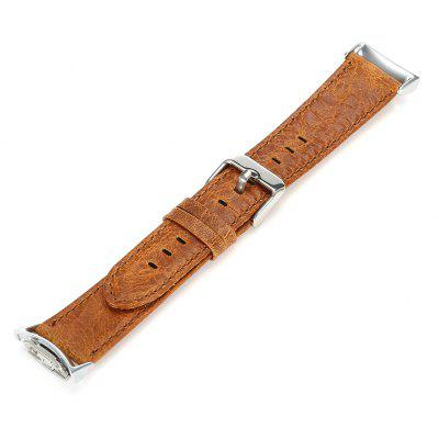 22mm Genuine Leather Wristband Pin Buckle