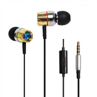 HUAST HST - 35 Metal Music Earphones
