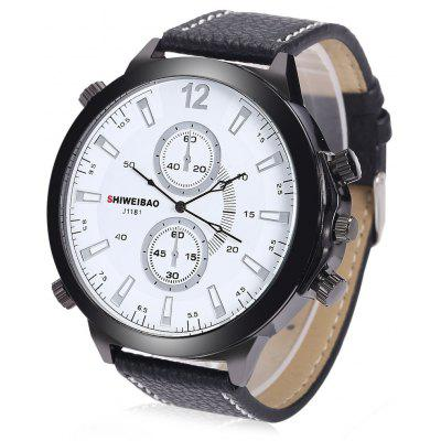 SHIWEIBAO J1181 Quartz Watch for Men