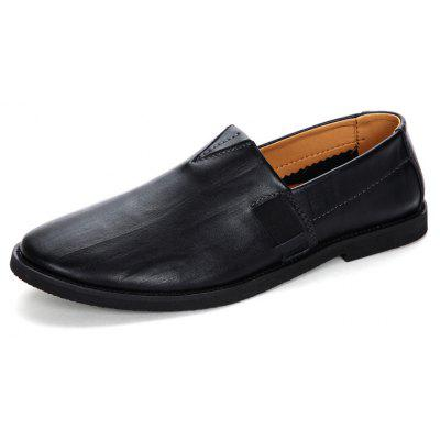 British Style Men Leather Loafers
