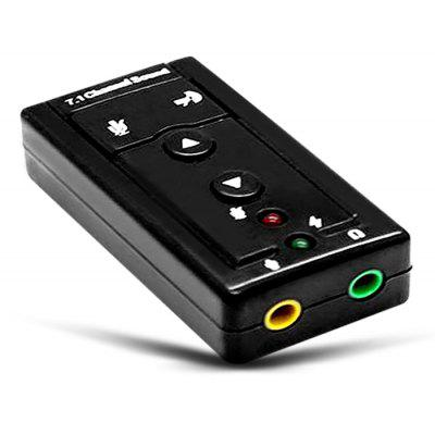 SOMAKE Virtual Surround 7.1 USB 2.0 External Sound Card