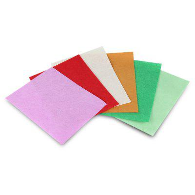 42PCS DIY Felt Fabric Cloth Polyester Sheets