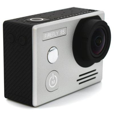 HawKeye Firefly 8S 4K WiFi Sports Camera 170 Degree FOVAction Cameras<br>HawKeye Firefly 8S 4K WiFi Sports Camera 170 Degree FOV<br><br>Aerial Photography: Yes<br>Anti-shake: Yes<br>Application: Aerial Photography, Underwater, Ski, Extreme Sports<br>Auto Focusing: No<br>Battery Capacity (mAh): 1200mAh<br>Battery Type: Removable<br>Brand: Hawkeye<br>Camera Timer: Yes<br>Charge way: USB charge by PC<br>Charging Time: 2.5h<br>Chipset: Ambarella A12S75<br>Chipset Name: Ambarella<br>Features: Wireless<br>Function: Anti-Shake, Camera Timer, WiFi, Waterproof, Remote Control<br>Image Format : JPG<br>Lens Diameter: 12mm<br>Max External Card Supported: TF 128G (not included)<br>Model: Firefly 8S<br>Night vision : No<br>Package Contents: 1 x FIREFLY 8S 4K WiFi Sport HD DV Camera, 1 x Waterproof Case, 1 x J-shaped Mount, 1 x Long Connector + Screw, 2 x Short Connector + Screw, 1 x Bike Handlebar Seatpost Pole Mount, 1 x 360 Degree Rota<br>Package size (L x W x H): 27.00 x 15.00 x 10.00 cm / 10.63 x 5.91 x 3.94 inches<br>Package weight: 0.6500 kg<br>Product size (L x W x H): 5.90 x 2.10 x 4.10 cm / 2.32 x 0.83 x 1.61 inches<br>Product weight: 0.0700 kg<br>Screen: With Screen<br>Screen resolution: 640x480<br>Screen size: 2.0inch<br>Screen type: LCD<br>Standby time: 5h<br>Type: Sports Camera<br>Type of Camera: 4K<br>Video format: MP4<br>Video Frame Rate: 120fps,240fps,30FPS,60FPS<br>Video Resolution: 1080P (120fps),1080P(60fps),2.5K (60fps),2.7K (30fps),4K (3840 x 2160),720P (240fps)<br>Water Resistant: 20m ( with waterproof case )<br>Waterproof: Yes<br>Wide Angle: 170 degree wide angle<br>WIFI: Yes<br>WiFi Distance : 10m<br>Working Time: 1.33h