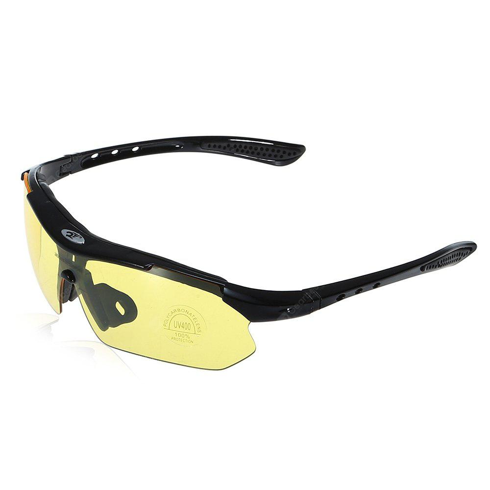 YELLOW ROBESBON 0089 Cycling Glasses
