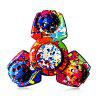 Colorful Triangular ADHD Adult Fidget Spinner - COLORMIX