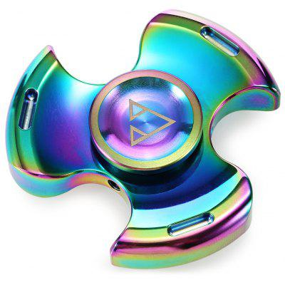 Colorful Tri-spinner Fidget Spinner Stress Relief Gift