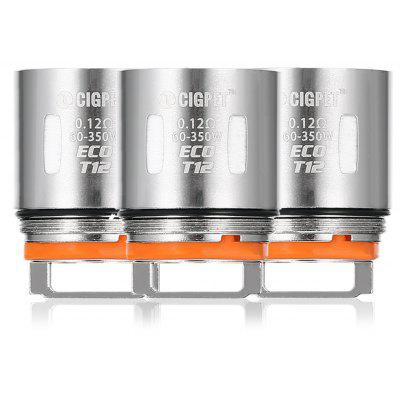 3pcs IJOY CIGPET 0.12 ohm ECO - T12 Coil for ECO12