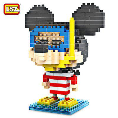 LOZ ABS Anime Figure Building Block - 240pcs / set
