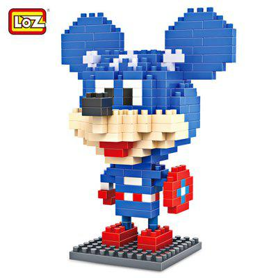 LOZ ABS Cartoon Figure Building Block - 240pcs / set