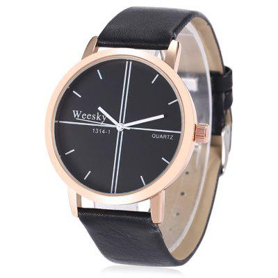 WEESKY 1314 - 1 Fashion Men Quartz Watch