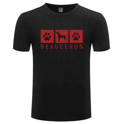 Cartoon Dog Printed T Shirts