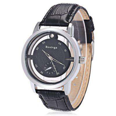ROSIVGA 500 Casual Small Sub-dial Men Quartz Watch