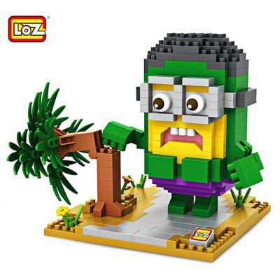 LOZ Cartoon Figure Building Block - 390pcs / set