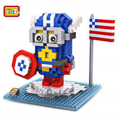 LOZ ABS Cartoon Figure Building Block - 400pcs / set