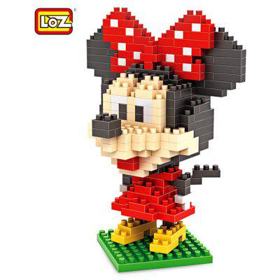 LOZ ABS Bloc de Construction de Figure - 280pcs / set
