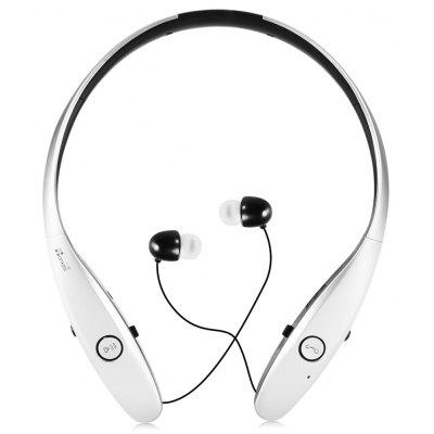 Ameter B9 Retractable Bluetooth Headphones with Pedometer Function